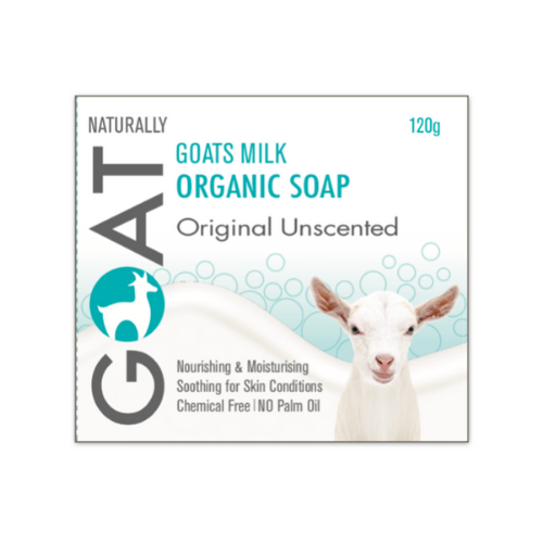 Original Unscented Goat Milk Soap