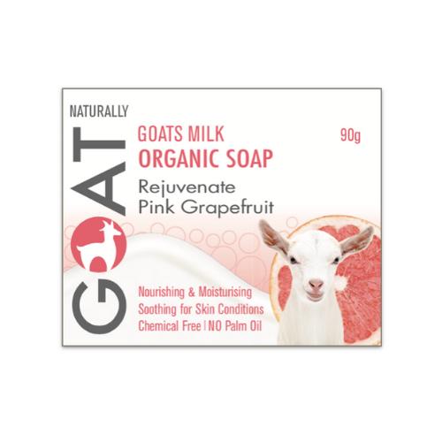 Pink Grapefruit Goat Milk Soap