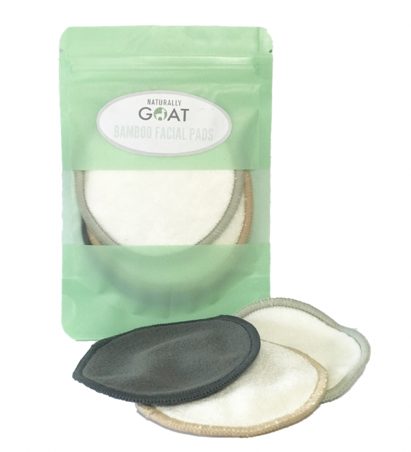 Bamboo Facial Cleansing Pads